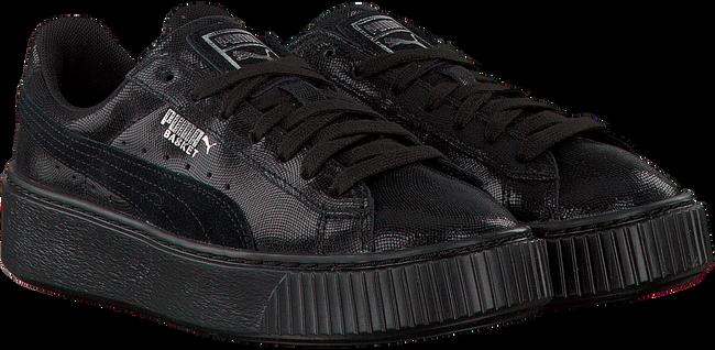 Zwarte PUMA Sneakers BASKET PLATFORM NS  - large