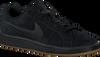Zwarte NIKE Sneakers COURT ROYALE SUEDE MEN - small