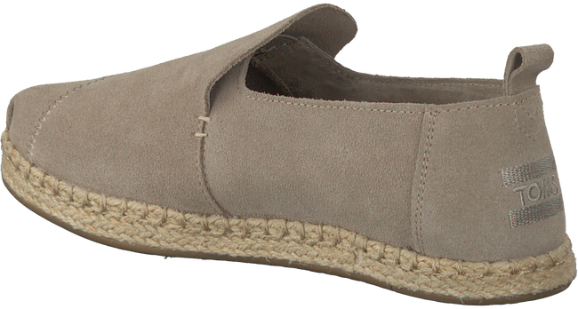 Taupe TOMS Espadrilles DECONSTRUCTED ALPARGATA ROPE W  - large