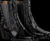 Zwarte TORAL Enkellaarsjes 12521  - small