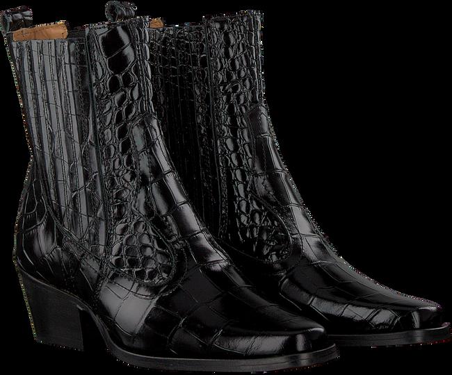 Zwarte TORAL Enkellaarsjes 12521  - large