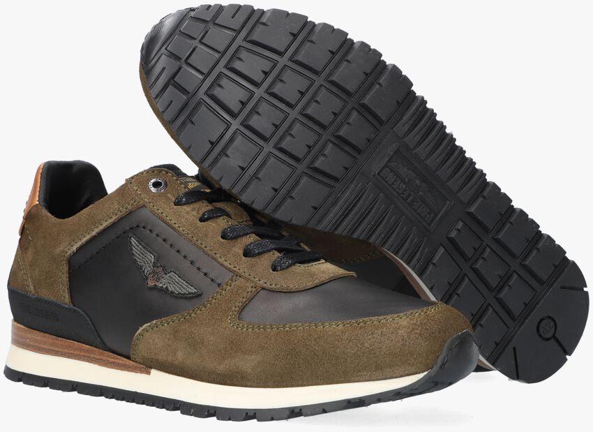 Groene PME Lage sneakers LOCKPLATE  - larger