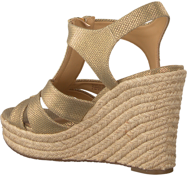 Gouden MICHAEL KORS Espadrilles BERKLEY WEDGE - large