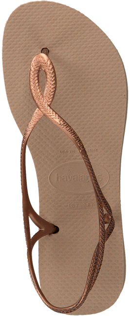 Gouden HAVAIANAS Slippers LUNA  - large