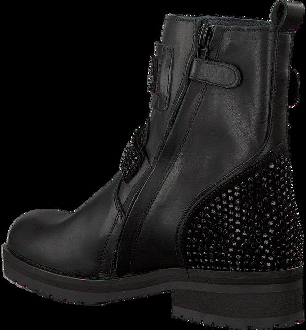 Zwarte HIP Biker boots H1847  - large