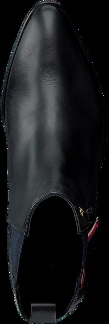Zwarte TOMMY HILFIGER Enkellaarsjes Z1285OE 2A  - large