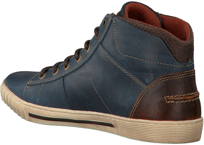 Blauwe BRUNOTTI Sneakers PARRANO MID  - large