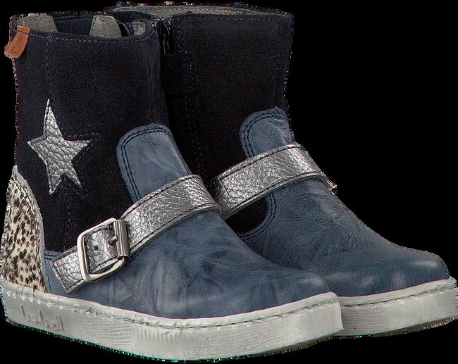 Blauwe BO-BELL Lange laarzen SHAKER  - large