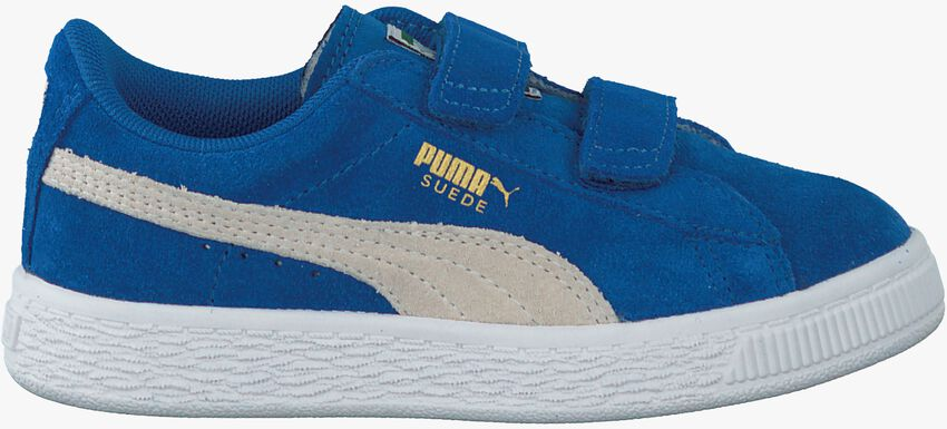 Blauwe PUMA Sneakers SUEDE 2 STRAPS - larger