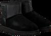 Zwarte UGG Vachtlaarzen CLASSIC MINI UGG SPARKLE - small