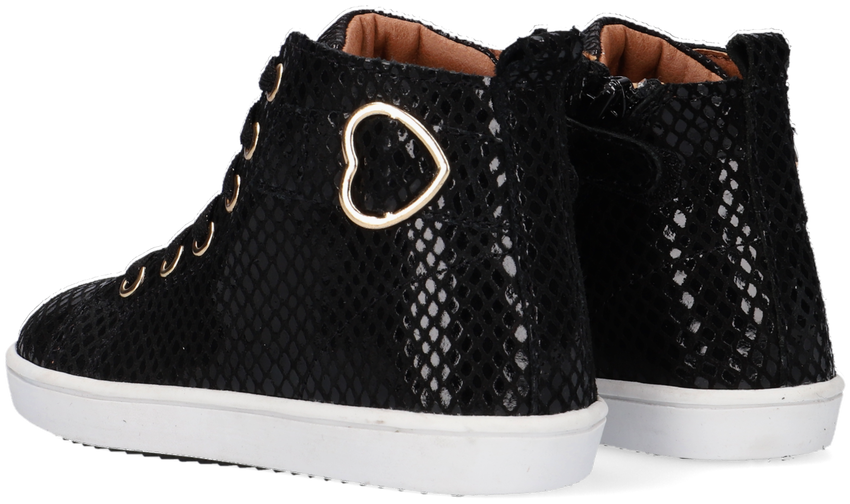 Zwarte TON & TON Hoge sneaker HANZEL  - larger