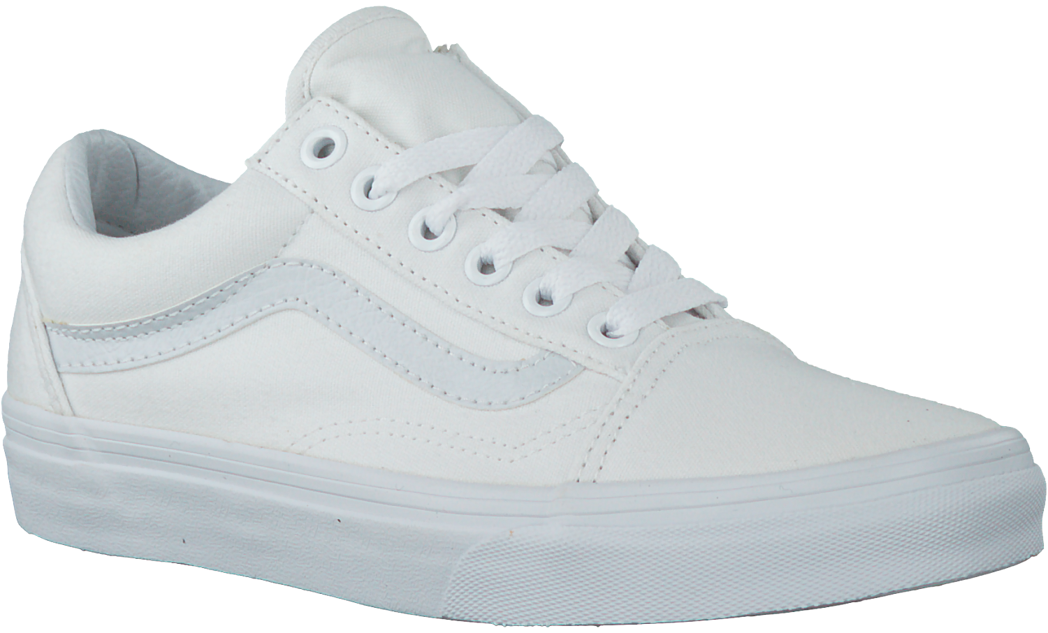 vans old skool heren leer