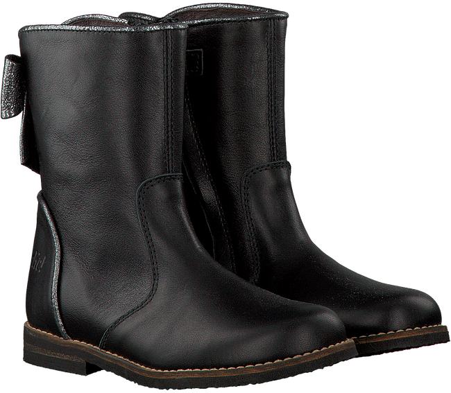 Zwarte CLIC! Lange laarzen 9090  - large