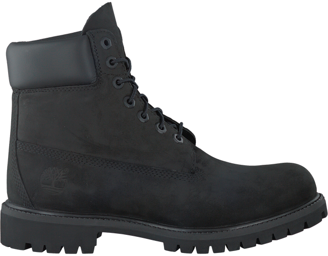 Zwarte TIMBERLAND Veterboots 6IN PREMIUM BOOT HEREN  - large