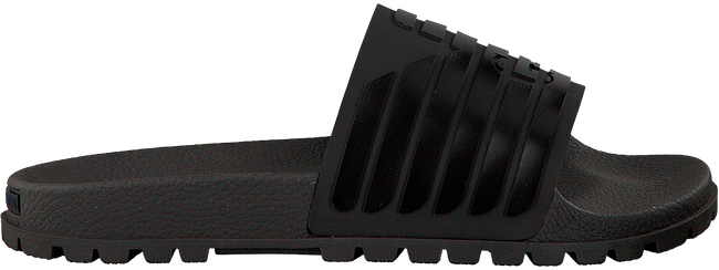 Zwarte ARMANI JEANS Slippers X4P077  - large