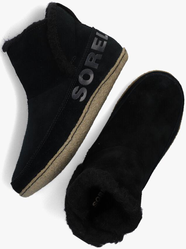 Zwarte SOREL Pantoffels NAKISKA BOOTIE  - larger