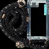 Zwarte KASCHA-C Telefoonkoord PHONECORD IPHONE 7/8  - small