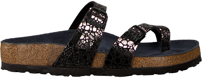 Zwarte BIRKENSTOCK PAPILLIO Slippers MAYARI METALLIC STONES  - large