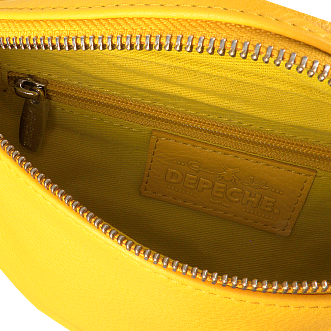 Gele DEPECHE Heuptas BUM BAG 12556  - large