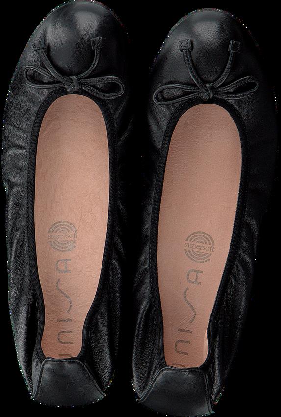 Zwarte UNISA Ballerina's ACOR  - larger