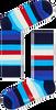 Blauwe HAPPY SOCKS Sokken STRIPE - small