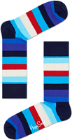 Blauwe HAPPY SOCKS Sokken STRIPE - medium