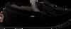 Zwarte WARMBAT Pantoffels FJORDA WOMEN SUEDE - small