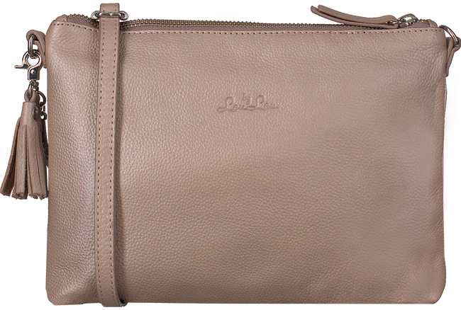Roze BY LOULOU Clutch 01POUCHXL119S - large