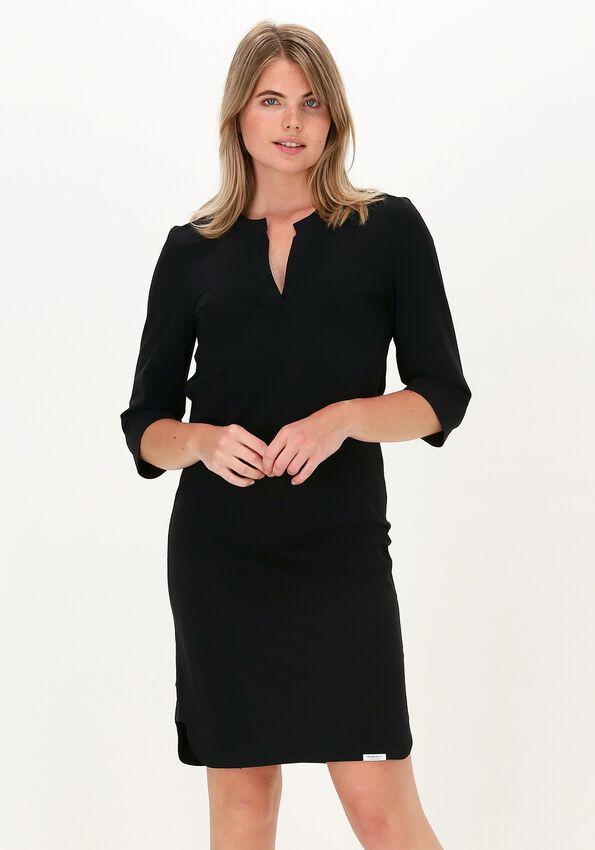 Zwarte PENN & INK Mini jurk JILL  - larger