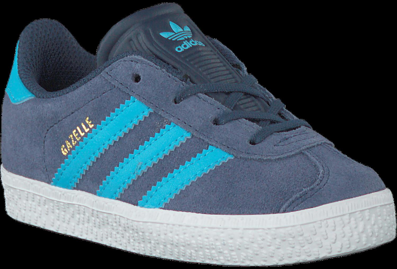 c7c5a42467608f Blauwe ADIDAS Sneakers GAZELLE KIDS - Omoda.nl
