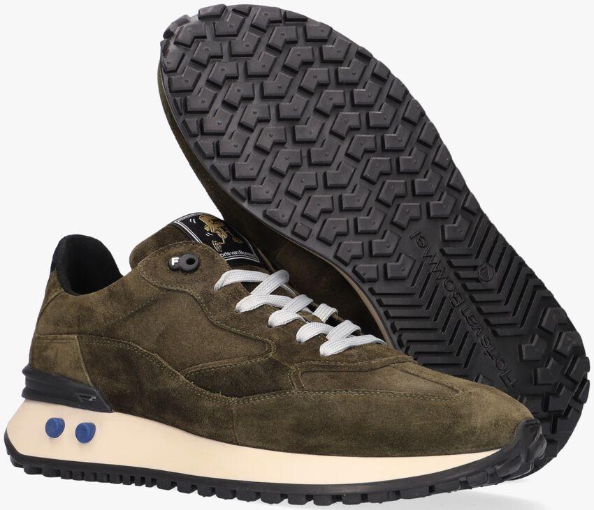 Groene FLORIS VAN BOMMEL Lage sneakers 16484  - larger