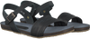 Zwarte RED RAG Sandalen 19136  - small