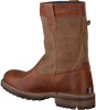 Cognac GAASTRA Enkelboots CABIN HIGH FUR - small