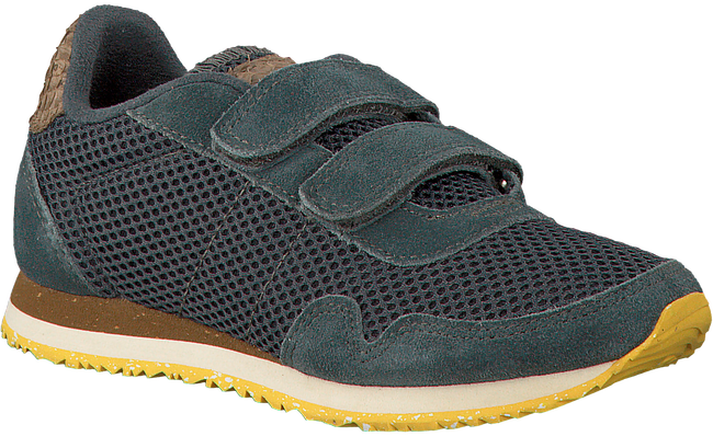 Grijze WODEN WONDER Sneakers NOA MESH KIDS  - large