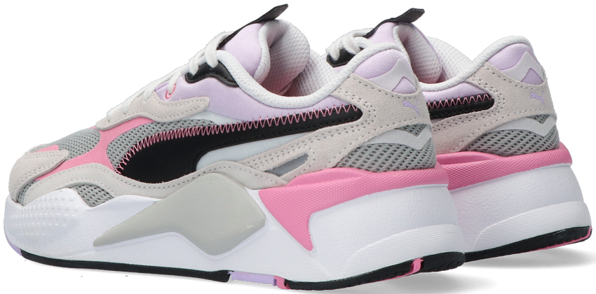 Roze PUMA Lage sneakers RS-X3 TWILL AIRMESH JR - larger