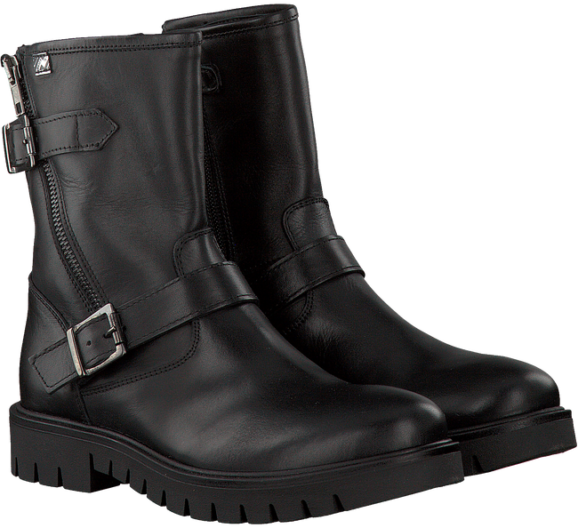 Zwarte EB SHOES Biker boots 891  - large