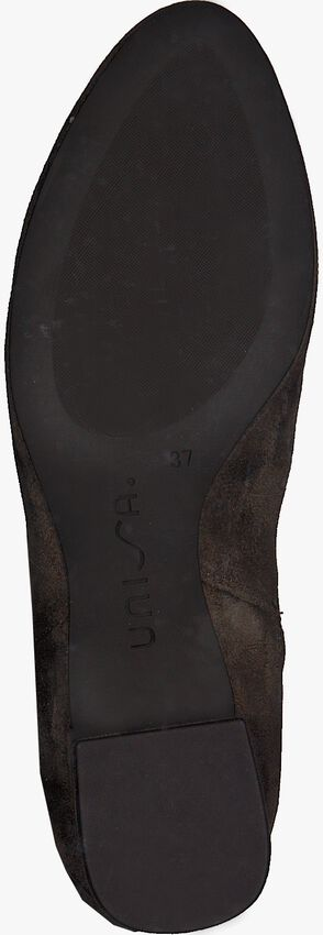 Taupe UNISA Overknee laarzen LUKAS  - larger