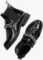 Zwarte BILLI BI Enkellaarsjes 1265  - medium