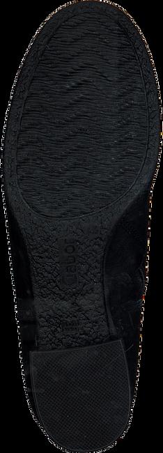 Zwarte GABOR Enkellaarsjes 792 - large