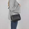 Zwarte MYOMY Schoudertas MY BLACK BAG - small