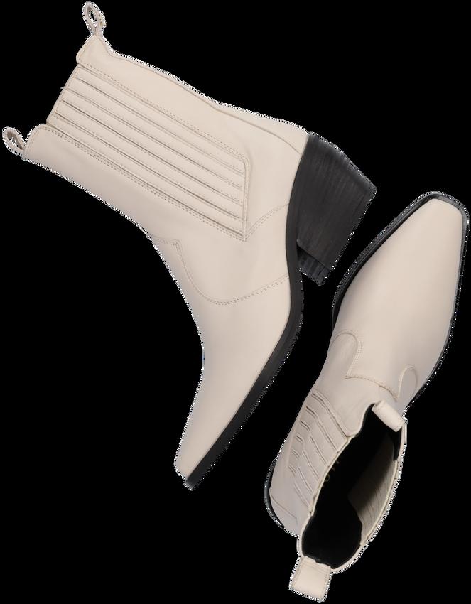 Witte NOTRE-V Enkellaarsjes AL335  - larger