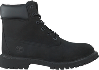 Zwarte TIMBERLAND Enkelboots 6IN PRM WP BOOT KIDS  - medium