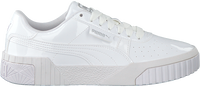 Witte PUMA Lage sneakers CALI PATENT JR  - medium