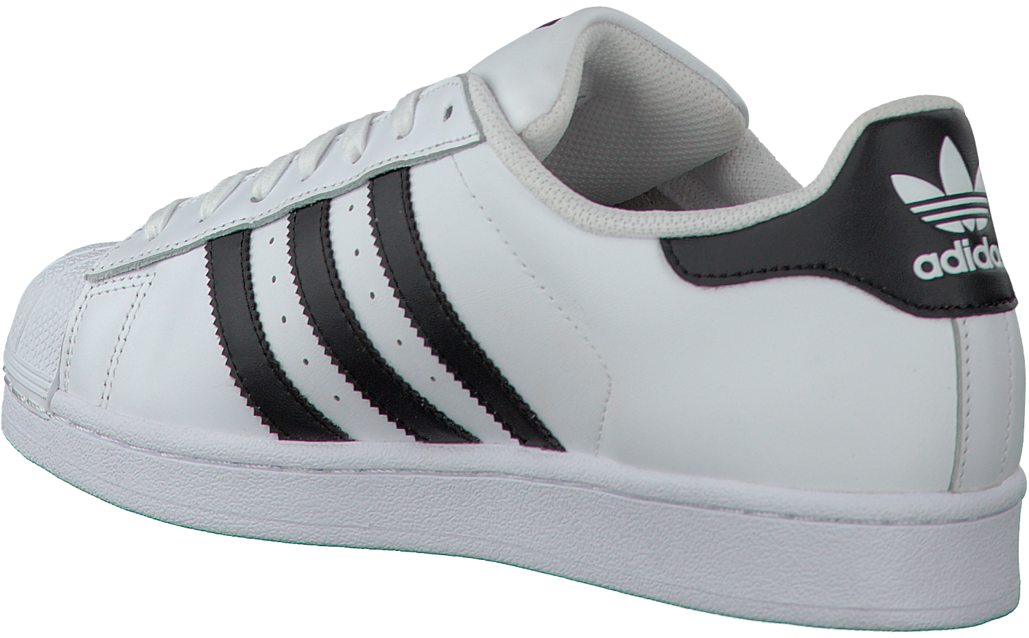 adidas superstar wit rood heren