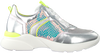 Zilveren HIP Lage sneakers H1274  - small