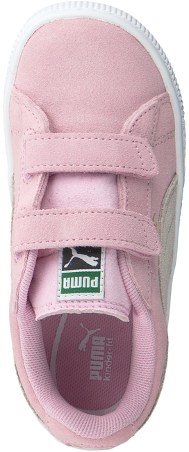 Roze PUMA Sneakers SUEDE 2 STRAPS - large