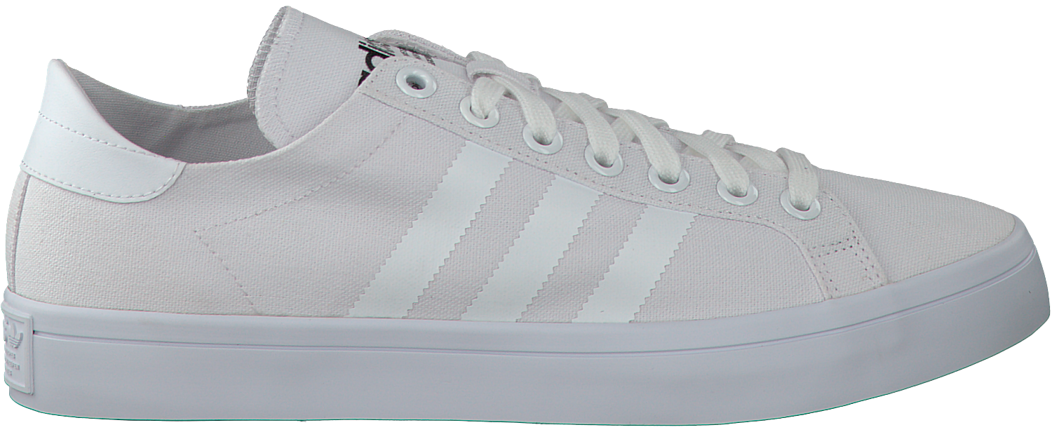 adidas court vantage heren wit