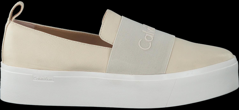 Verbazingwekkend Witte CALVIN KLEIN Slip-on sneakers JACINTA - Omoda.nl AD-26