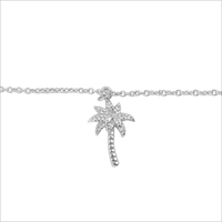 Zilveren ATLITW STUDIO Armband SOUVENIR BRACELET PALM TREE - medium
