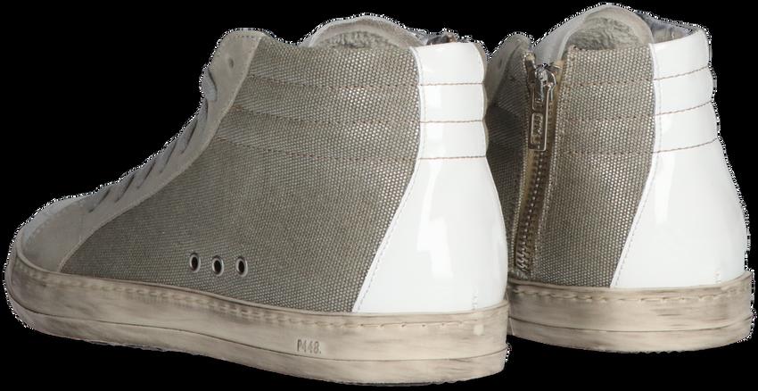 Beige P448 Hoge sneaker SKATE WMN  - larger